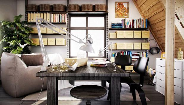 Ev Ofis Dekorasyonu